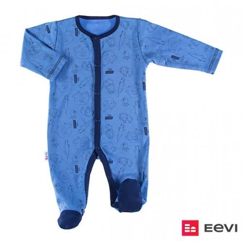 Sleepsuit SAWANNA blue/print