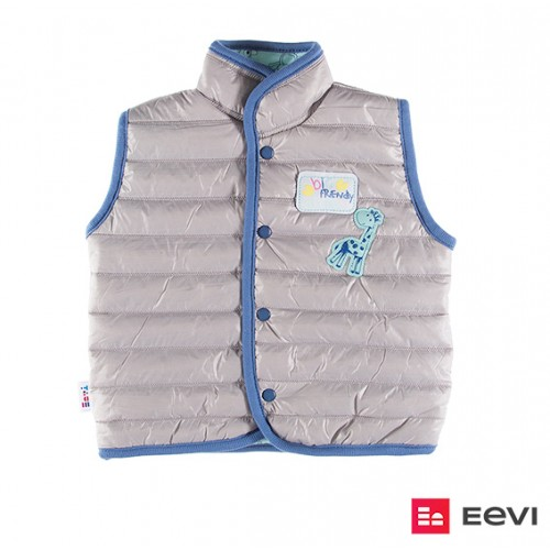 Vest quilted SAWANNA gray