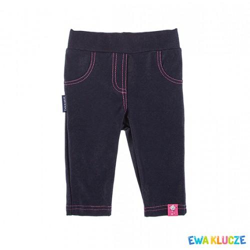 Spodnie COSMOS granat/różowy
