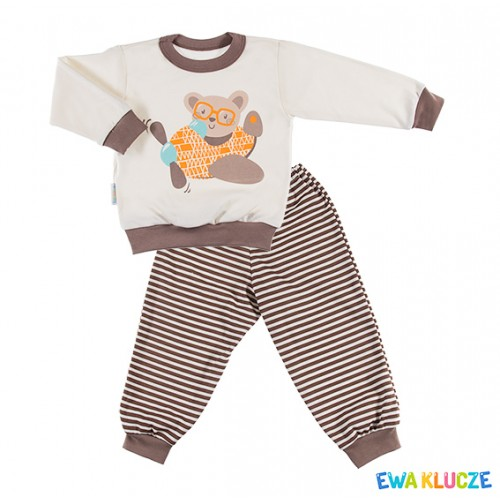 Pyjamas DOBRANOC ectu/brown