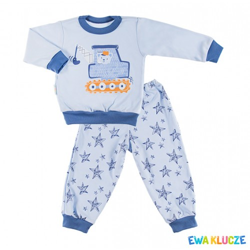 Pyjamas DOBRANOC blue/navy