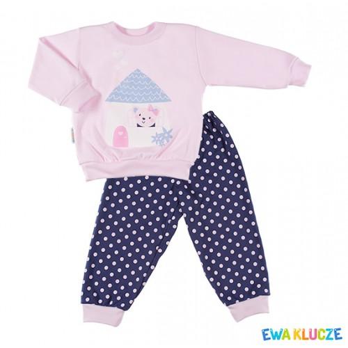 Pyjamas DOBRANOC pink/navy/dots