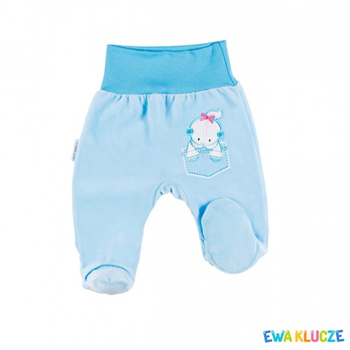 Joggers with feet FRIENDS turquoise