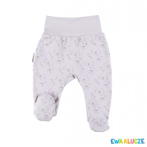 Joggers with feet LOVELY gray/print