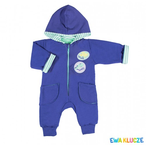 Playsuit MESSY PLAY navy/green