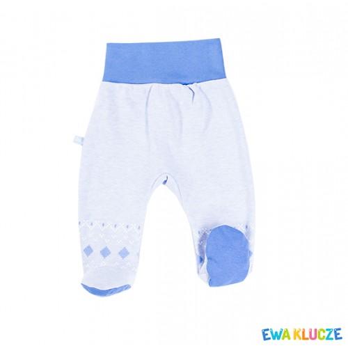 Joggers with feet MINI blue