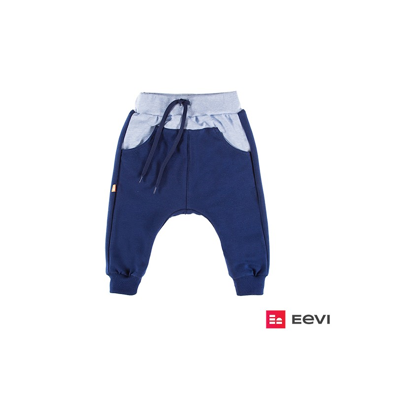 e32865e53dced8 Spodnie dresowe SUN granatowy - Eevi