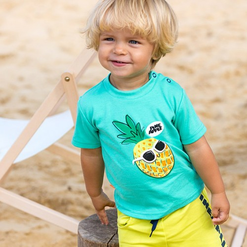 T-shirt SUN zielony