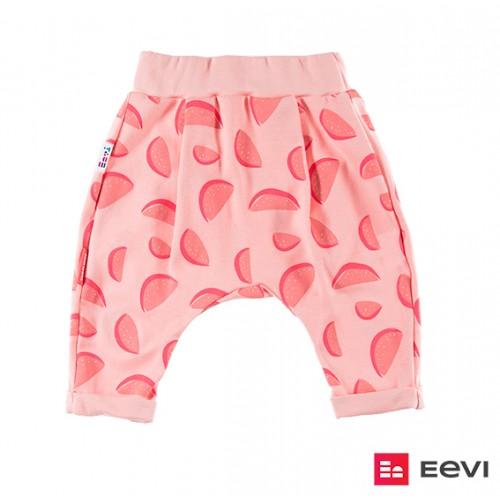 Trousers SUN print coral