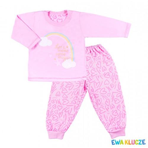 Piżama COMICS różowy/serduszka