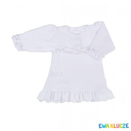 DRESS HAPPY DAY VELOUR WHITE