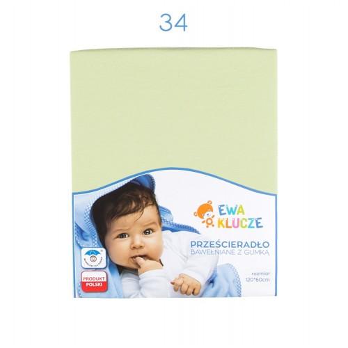 Sheet light green 120x60