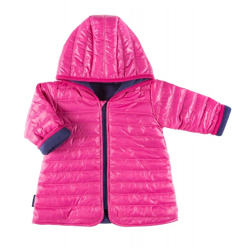 Płaszcz pikowany COSMOS różowy